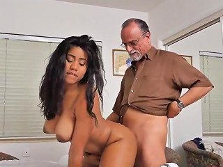 Japanese Mom And Horny Old Man First Time Glenn Finishes The Job