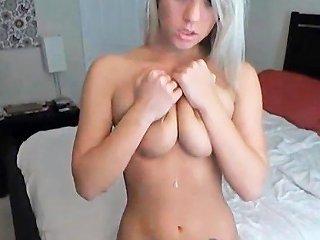 Busty Blonde Anal Teen