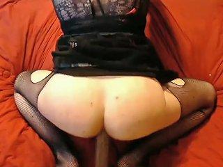 Big Booty Twink Riding Bbc Dildo Femboy Crossdresser Loves A Bbc