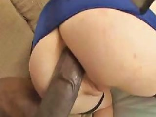 Hot Blonde In Glasses Eats A Big Black Cock And Gets Her Nuvid