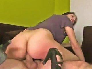Hard Anal And Throatfuck With Big Ass Ana
