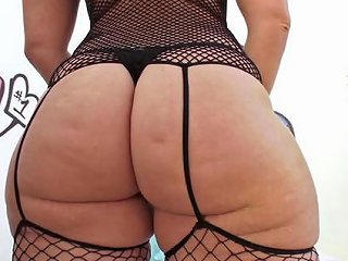 Big Ass Chick Chick In Fishnet Lingerie Fucked In The But Any Porn