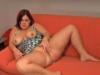 Fat Amateur Toys Ass And Masturbates Pussy
